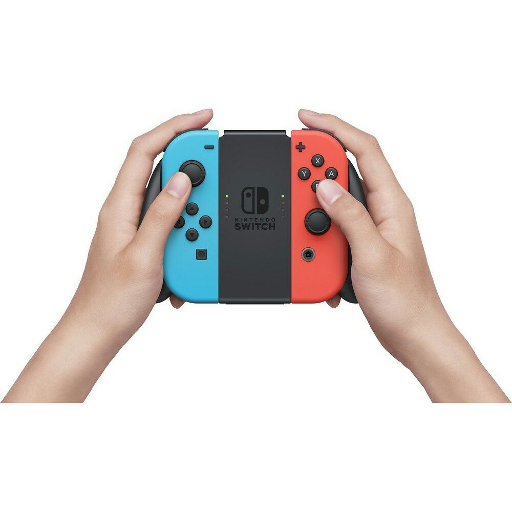 Nintendo Switch Console System 32GB with Neon Blue and Red Joy-Con Wireless Controllers 1