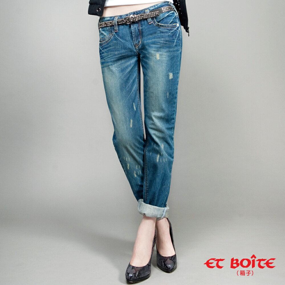 【990元優惠↘】ET BOiTE 箱子  LE  JEAN 男友褲 0