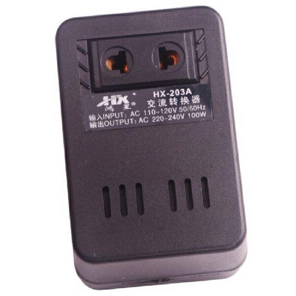 100W 110V轉220V AC交流電轉換 轉換器 轉換插頭 變壓器 (19-192) 1