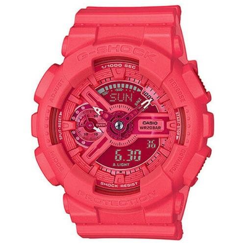 Women's Casio G-Shock S Vivid Color Pink Watch GMAS110VC-4A 0