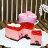 法式心形草莓覆盆子慕斯派(6吋)★免運★蘋果日報 母親節蛋糕【布里王子】需五天前預訂 2