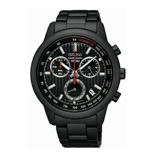 SEIKOCS線條時尚計時腕錶SSB219P1(8T68-00A0SD)