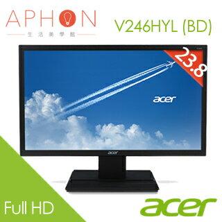 【Aphon生活美學館】Acer V246HYL (BD) 23.8吋 液晶螢幕