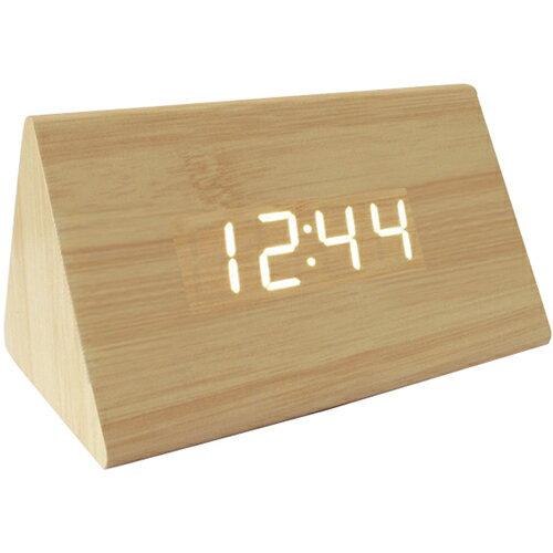 Led木製時尚鬧鐘(長方形) [大買家] 2