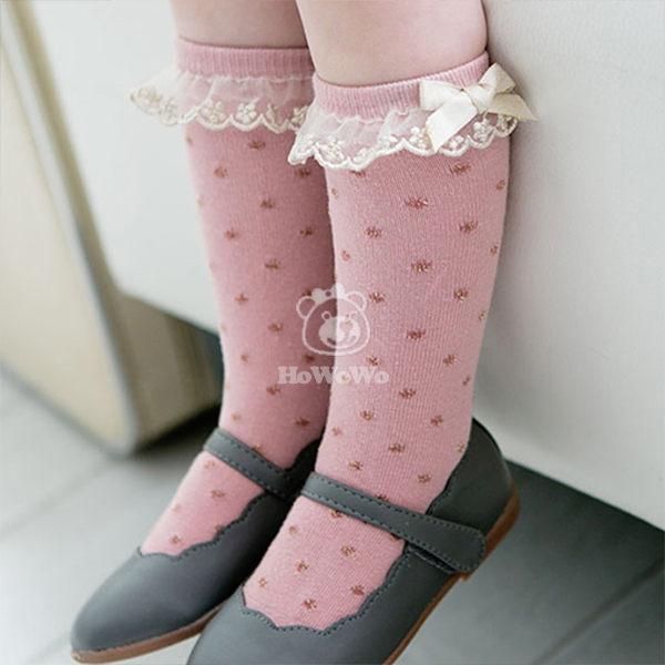 童襪 寶寶襪 蕾絲花邊中筒襪 嬰兒襪 0-4歲 CA1223 好娃娃