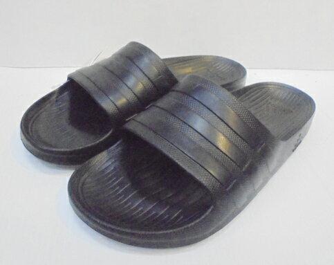 [陽光樂活]ADIDAS 拖鞋  黑   S77991   尺寸 UK 7-11