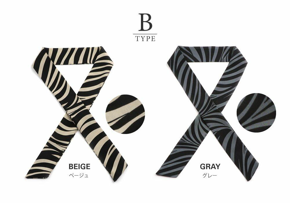 日本CREAM DOT  /  全7色 スカーフ ツイリースカーフ ファッション小物 ベルト ストール 大人 レオパード柄 ゼブラ柄 ペイズリー柄 ベージュ モカ レンガ  /  k00335  /  日本必買 日本樂天直送(1290) 3