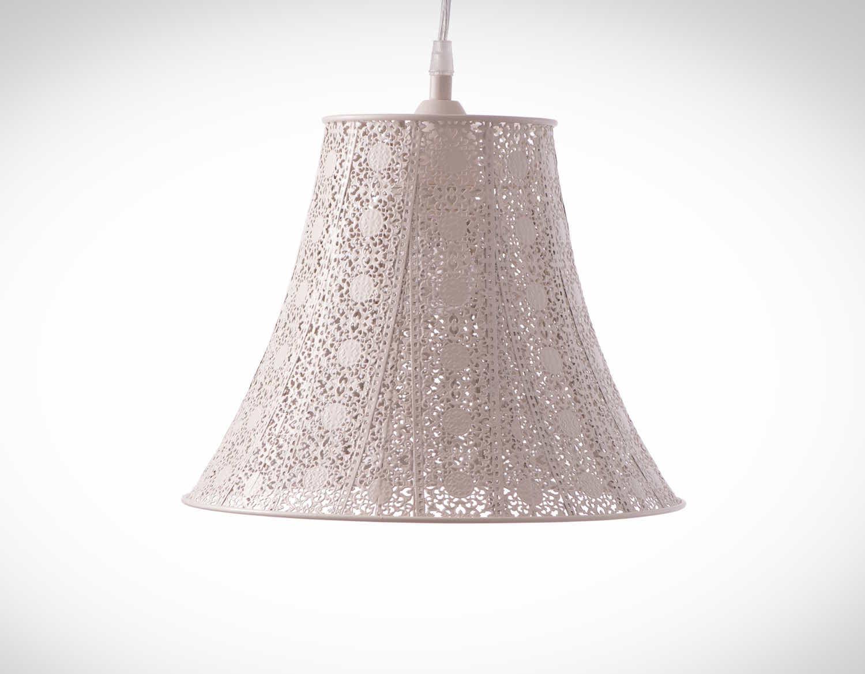 鄉村風米白吊燈-BNL00074 0