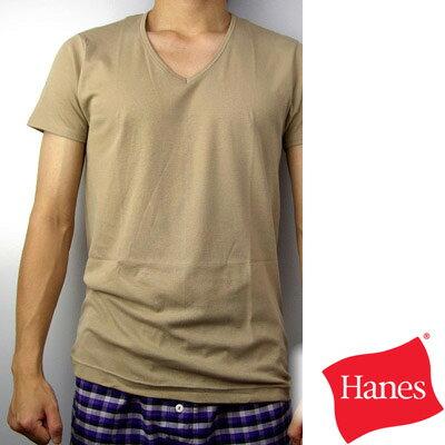 【Hanes】吸汗速乾ComfortCool系列V領T恤