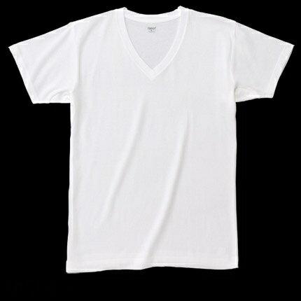 【Hanes】自然涼感ComfortCool系列V領T恤