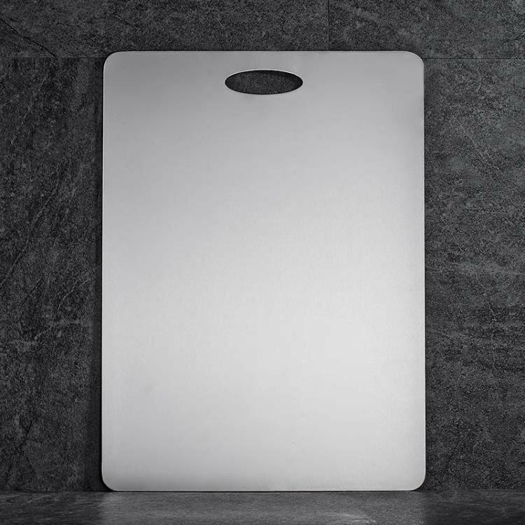 砧板 304不銹鋼菜板 占板家用搟面大號案板抗菌防霉砧板廚房切水果和面 探索ATF