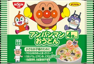 Nissin日清麵包超人馬克杯麵4入-烏龍麵 88g