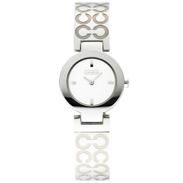 COACHLogo手鐲腕錶時尚女錶