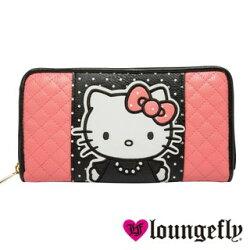 【Loungefly】Hello Kitty聯名款長夾LFSANWA0642《筑品文創》