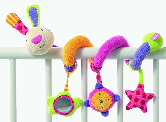 babyFEHN 芬恩 - 探險家小兔布偶扭扭圈玩具 3