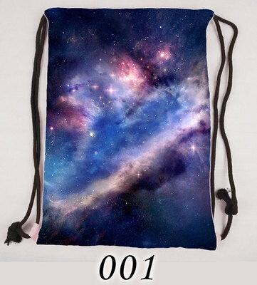 【憶童趣】日系 原宿星空 束口袋後背包