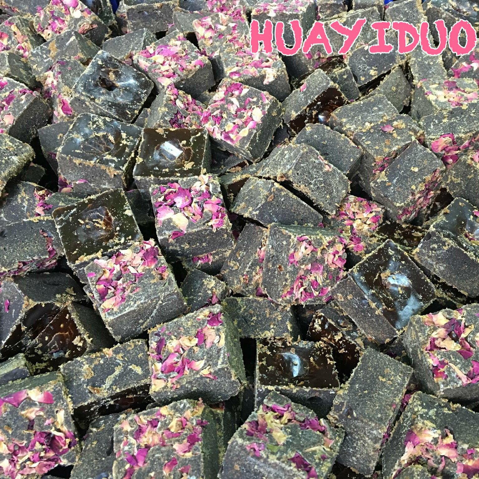 【玫瑰四物黑糖塊】300g夾鏈立袋 黑糖茶磚/養生飲