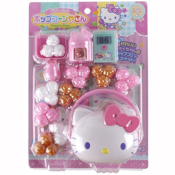 【真愛日本】17093000008爆米花玩具-KT粉三麗鷗kitty凱蒂貓扮家家酒兒童玩具幼兒玩具