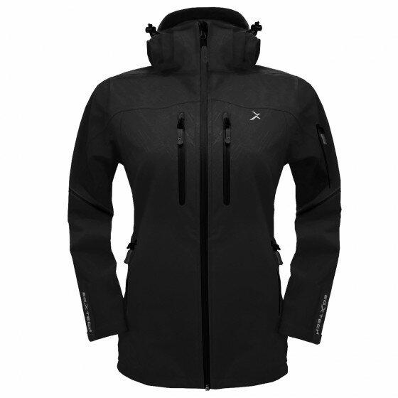CS-2W 女款攻頂RAINSTORM超倍防水外套(黑/黑)EGXtech衣格 羽嵐服飾