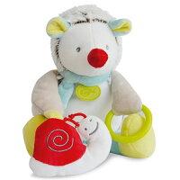 彌月禮盒推薦Doudou 白綠紅刺蝟玩具布偶 (20cm)