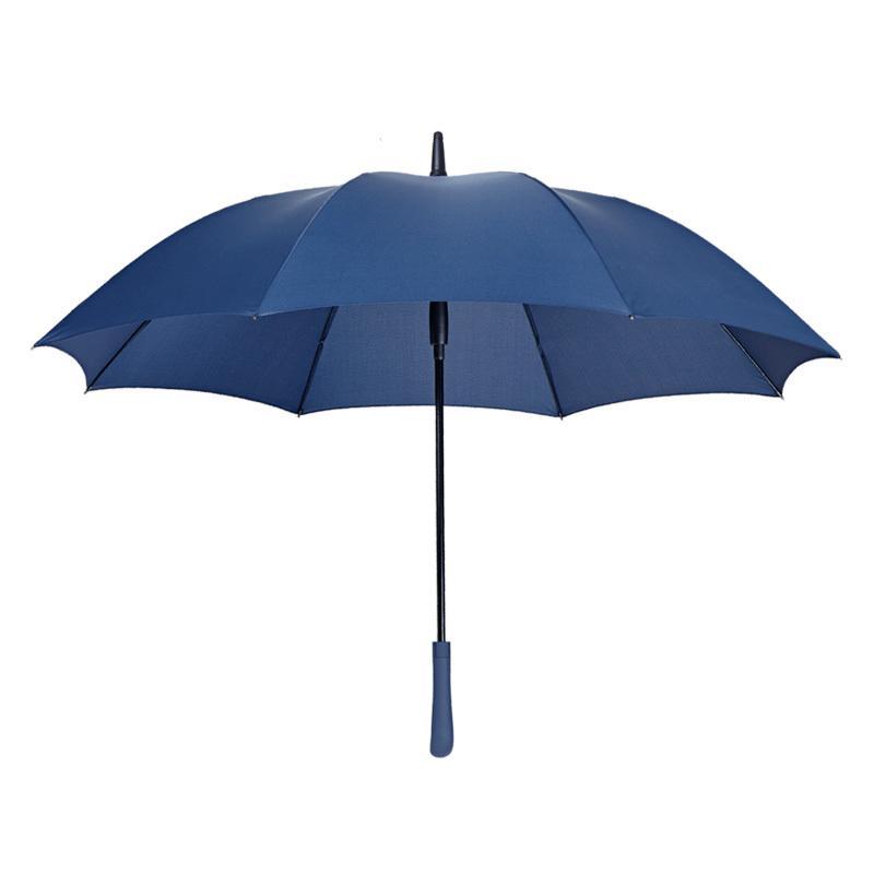 利創日系簡約晴雨傘長柄傘男女商務直桿超大雙人加固防風直柄創意1入
