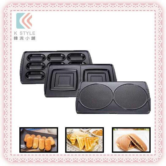 【 伊瑪 imarflex】  多功能鬆餅機-選購烤盤組 雞蛋糕 圓形薄餅 方形司康 3合1