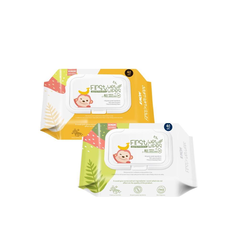 Mother-K 自然純淨嬰幼兒濕紙巾-6款10包【六甲媽咪】