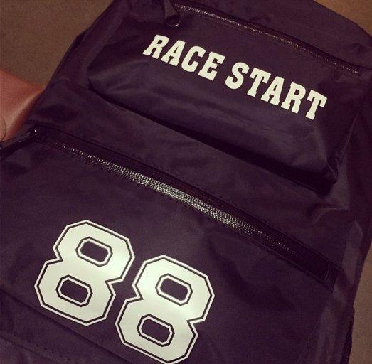 韓國 吉特 後背包 3M反光貼 布條 雙口袋 方便多夾層 電腦包