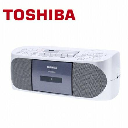 TOSHIBA TY-CWX320TW CD/MP3/USB/卡帶 多功能手提音響 全功能錄放音響 支援藍芽3.0功能播放 公司貨 0利率 免運