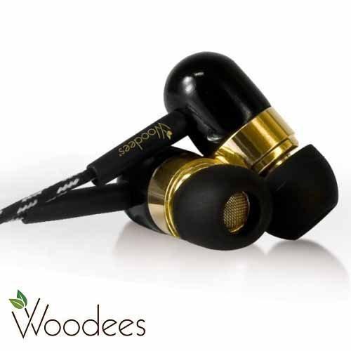 志達電子 IESW100L 美國 Woodees 藍調麥克風耳機 木質原音耳機 門市提供試聽