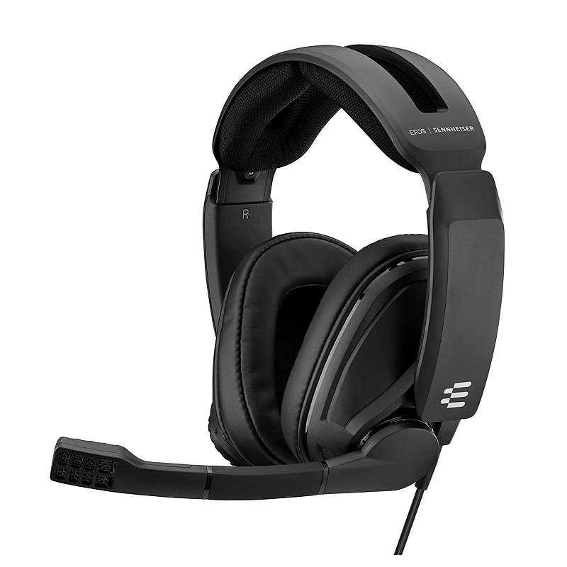 [2美國直購] EPOS I Sennheiser GSP 302遊戲耳機 降噪麥克風 翻蓋靜音 兼容PC Mac PS4 NS Xbox