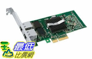 [美國直購] Intel PRO/1000 PT Dual Port Server Adapter - 2 ports (EXPI9402PTBLK)網絡適配器