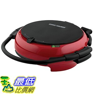 [美國直購] George Foreman GRP106QPGR 燒烤機 360 Electric Round-Shaped Grill with 5 Plates