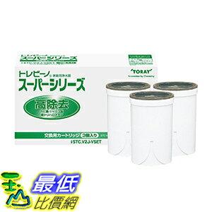 [東京直購] TORAY 東麗 STC.V2J-VSET (3入) INTERNATIONAL 淨水器濾心 濾芯 適用SX605V、SX903V、SX703T、SX604V、SX902V