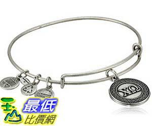 [美國直購] Alex and Ani Sorority Chi Omega Expandable Rafaelian Gold Finish Wire Bangle Bracelet 手鐲