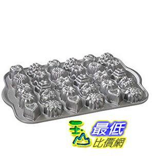 [美國直購] Nordic Ware Platinum Collection Cast-Aluminum Nonstick Tea-Cake and Candy Mold 蛋糕模具