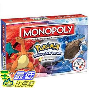 玉山最低比價網:[美國直購]MONOPOLY:PokemonKantoEdition卡片紙牌大富翁神奇寶貝精靈寶可夢關東版