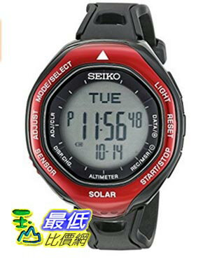 [美國直購] Seiko Men's SBEB003 Prospex Stainless Steel Watch with Black Band 手錶
