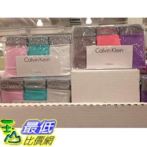 [105限時限量促銷] COSCO CALVIN KLEIN PANTY 3PK 女舒適彈性棉質內褲三入組 美國尺寸:S-L C1063141
