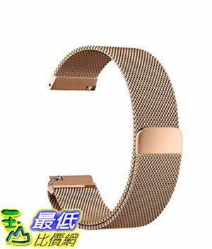 [美國直購] Oitom 玫瑰金 L 6.7吋-9.1吋 不鏽鋼錶帶 Samsung Gear S3 Classic/Gear S3 Frontier Stainless Steel Watch Ba..