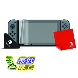 (美國代訂) 預購3/3 PDP Nintendo Switch Official Screen Protection Kit 螢幕保護組