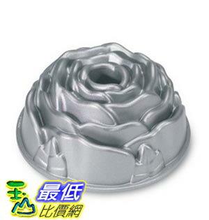 [美國直購] Nordic Ware Platinum Rose Cast Aluminum Bundt Pan 蛋糕模具