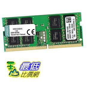 [玉山最低比價網] Kingston/金士頓記憶體條4代 DDR4 2133 16G筆記本記憶體條PC4-2133P _yyl