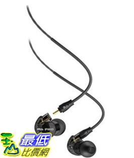 [美國直購]MEEaudioM6PRO黑灰色耳機Universal-FitNoise-IsolatingMusician'sIn-EarMonitorswithDetachableCables