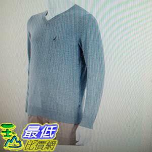 [COSCO代購 如果沒搶到鄭重道歉] Nautica 男長袖V領毛衣 (多種顏色尺寸選擇) W108507