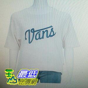 [COSCO代購 如果沒搶到鄭重道歉] Vans 女圓領短袖上衣 (多種尺寸選擇) _W1103351