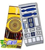 [美國直購] ThinkGeek 星際大戰 Star Wars 擦手巾 茶巾 R2-D2 & C-3PO Hand Towel Set 週邊商品