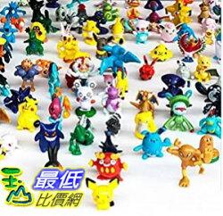 """[美國直購] OliaDesign Pokemon Pikachu Monster Mini Action Figures Toy (Lot of 24 Piece), 1"""" 數字玩具"""
