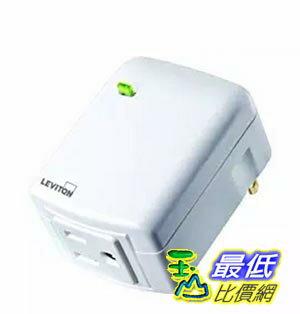 [美國直購] Leviton DZPA1-1BW Decora Z-Wave Controls 15-Amp Plug-In Appliance Module, White, Works with Amazon Alexa