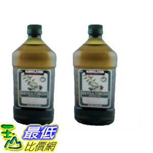 [COSCO代購 如果沒搶到鄭重道歉] Kirkland Signature 科克蘭 冷壓初榨橄欖油 2公升 (2入) _W1058619